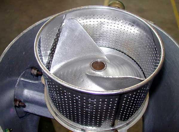 separazione liquido  solido  lavorazione polveri umide e