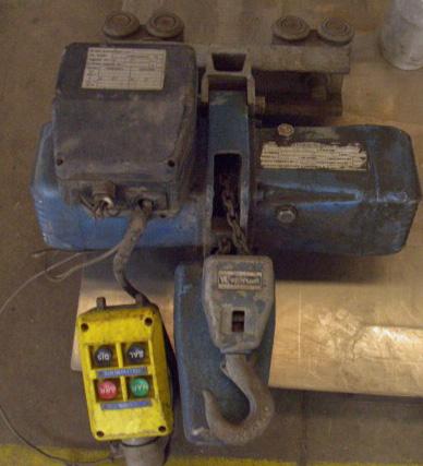 Macchine di confezionamento accessori e apparecchiature for Paranco elettrico usato